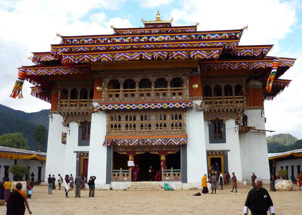 monastere de gangtey1000