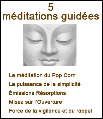 5 méditations guidees